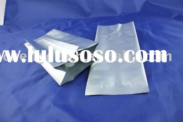 blank Aluminium Foil Packing pouch,coffee bag with valve,