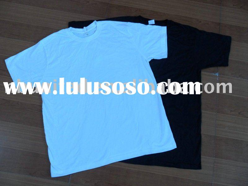 blank seamless 100% cotton t-shirts