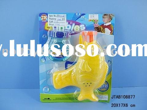 bubble gun/plastic toy/kid toy/novelty toy