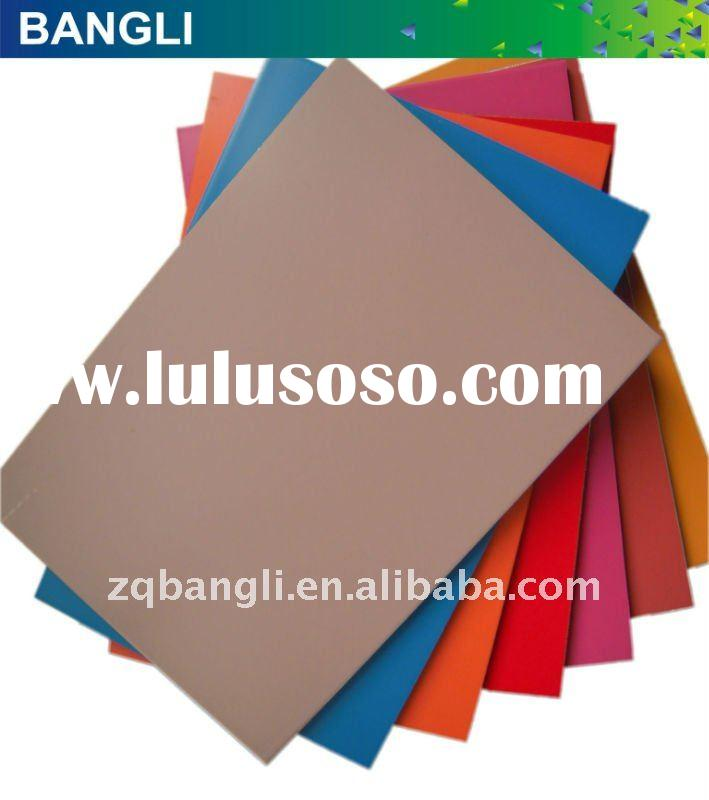 building construction material wall cladding system pvdf aluminum composite panel facade panel