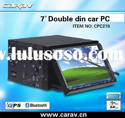 "car pc-7"" double din car pc GPS/BLUETOOTH/TV/FM/TOUCH SCREEN/SD/USB"