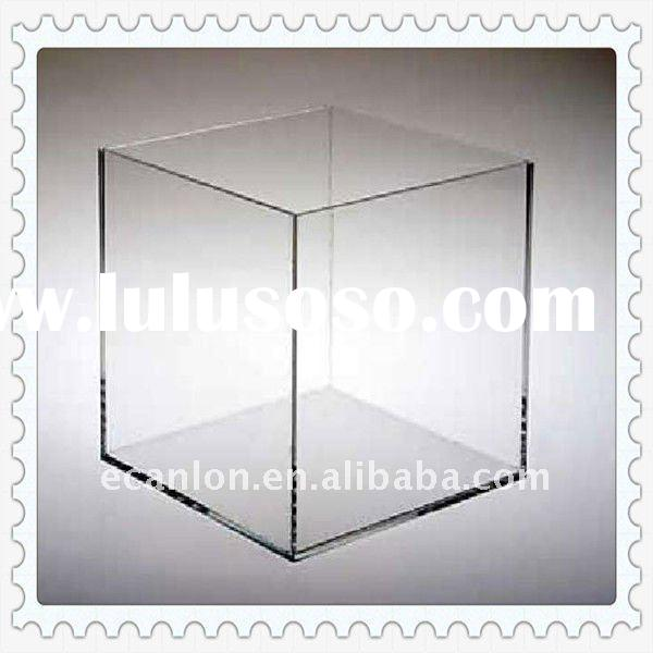 Acrylic Round Table Clear Display