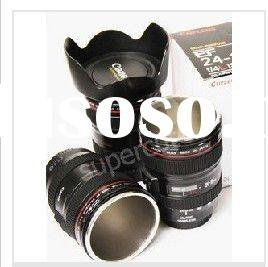 coffee canon camera lens metal stainless Mugs wholesale