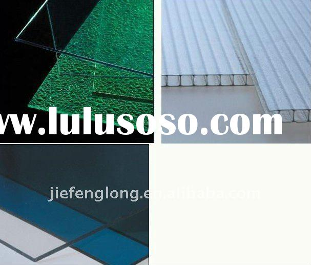corrugated plastic roofing sheets construction materials polycarbonate hollow sheet