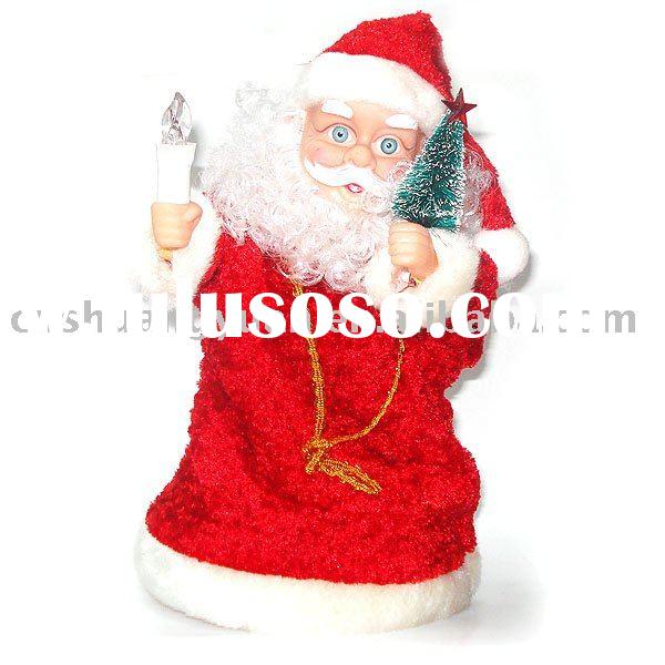 dancing xmas santa claus /christmas decoration