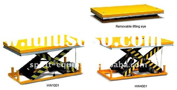double scissor lift table / personal lift