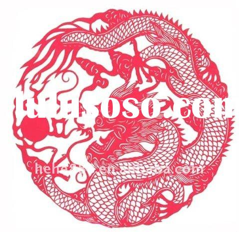 dragon paper-cut for 2012 new year