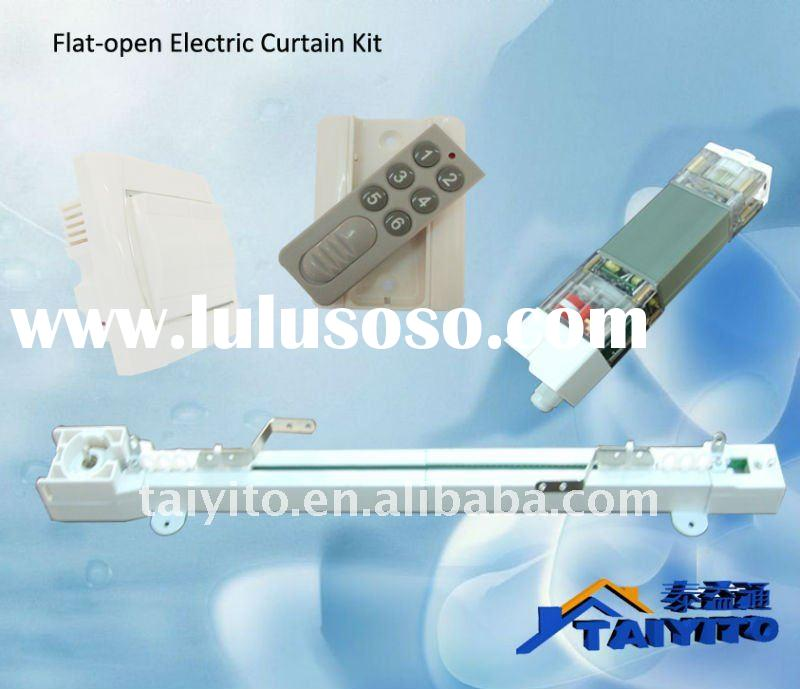 electric curtain system/cable curtain/motorized curtain