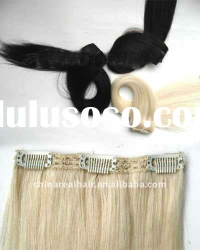 expression hair extensions clip-in hair extension