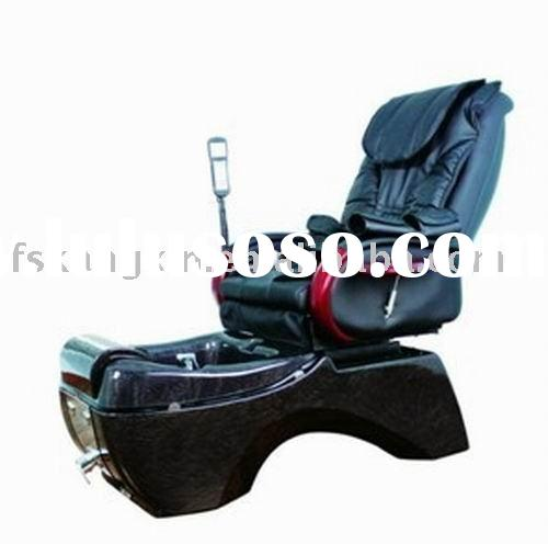 fashion model foot spa massage health care chair for pedicure and manicure