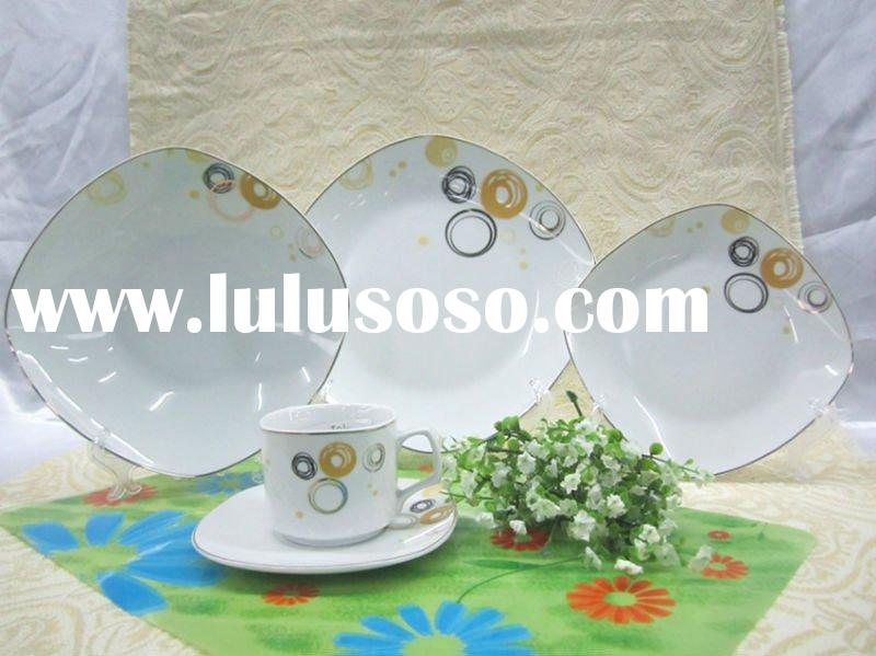 fine square shape royalporcelain bowlkitchenware cheap coffee sets tea sets porcelain dinner sets st
