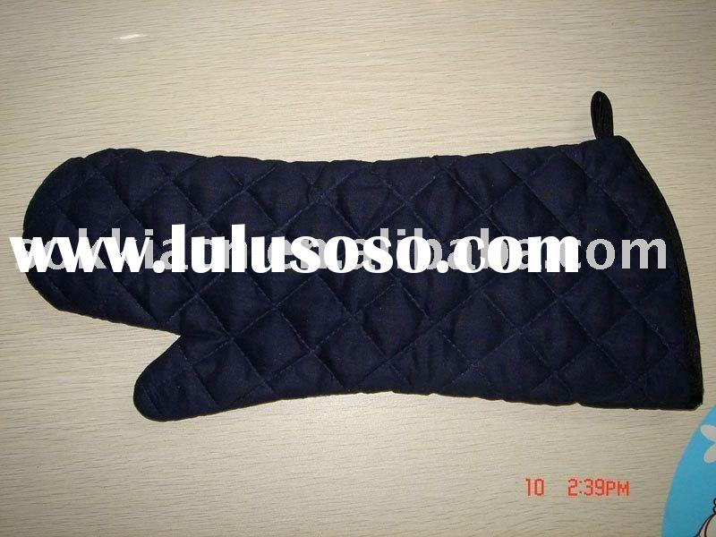 flame-retardant oven glove/flame retardant cotton oven mitt