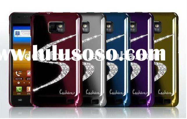 for Samsung Galaxy S2 i9100 case (Diamond S shape)/New Luxury Hard Protection Back Case Cover For sa