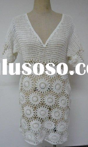 ladies' sweater,crochet sweater,fashion clothing