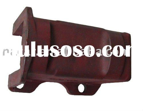 leaf spring rubber cushion seat +auto spare part+truck suspension system accembly+spring block