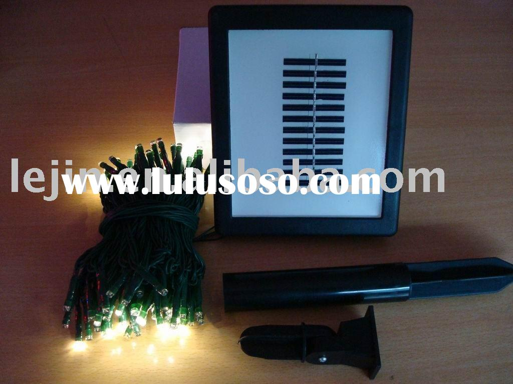 led Solar tree Light/Solar Holiday Light/Solar Decorative Light/Solar Color Lights/