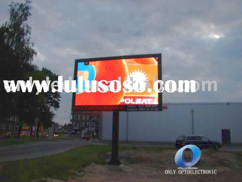 light weight thin LED Video Display
