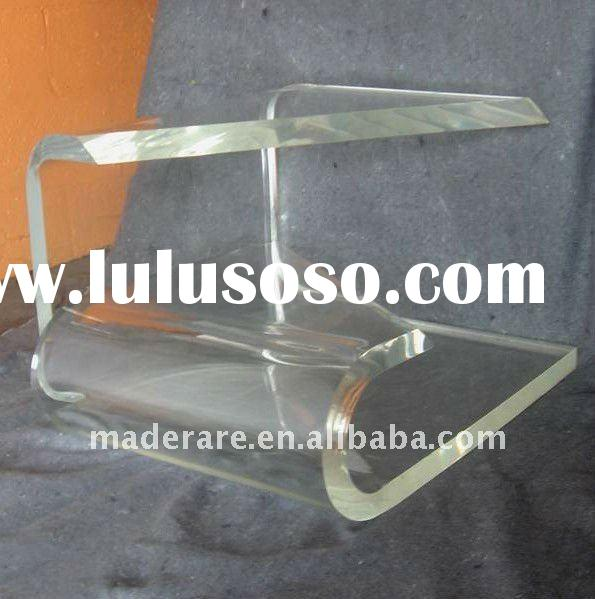 mid century modern lucite coffee table, acrylic end table, acrylic console table, acrylic coffee tab