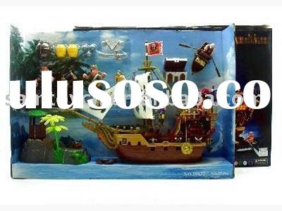 pirate toy,plastic pirate toy,pirate ship,pirate play set,toy,plastic toy