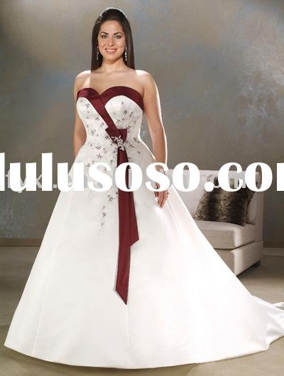 Red And Black Plus Size Wedding Dresses - Wedding Dresses ...