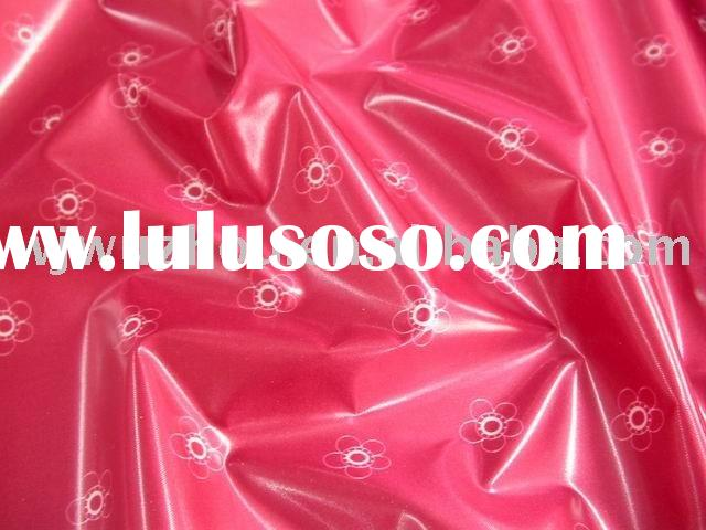 printed polyester fabric with TPU coating
