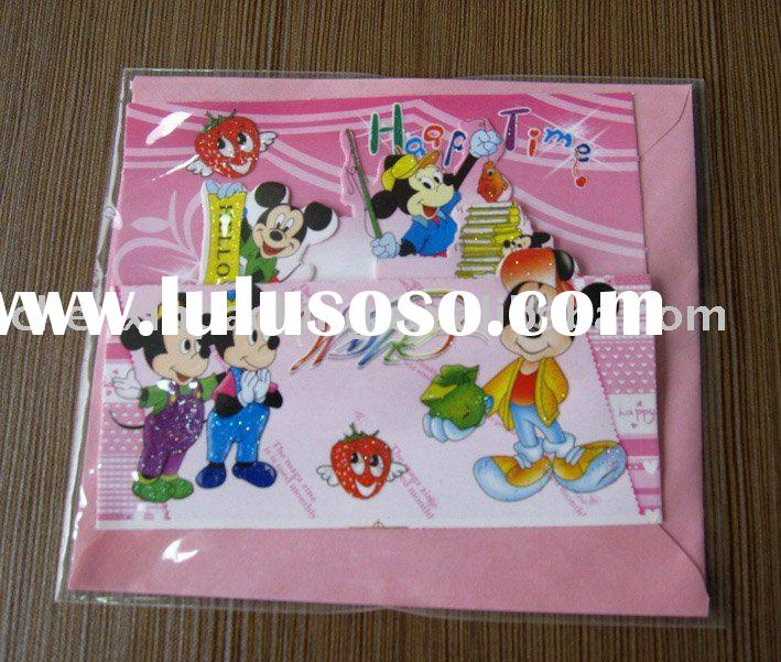 printing paper card/christmas greeting card/birthday card