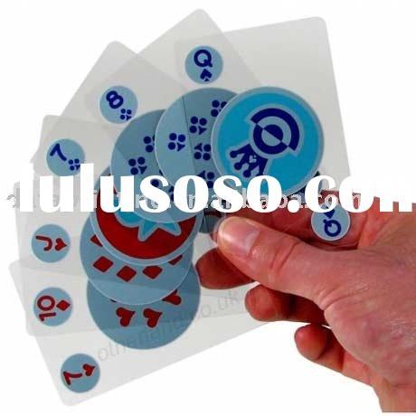 promotional playing cards, pvc playing cards, plastic playing cards, plastic poker, poker, plastic c