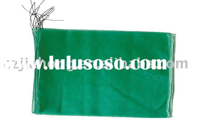 reusable net bag packing potato and onion