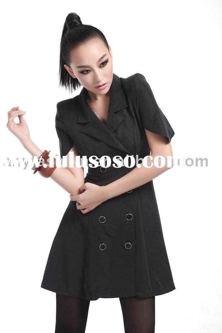 short sleeve fashion lady jacket AF060