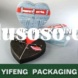 special paper gift box with jean printing