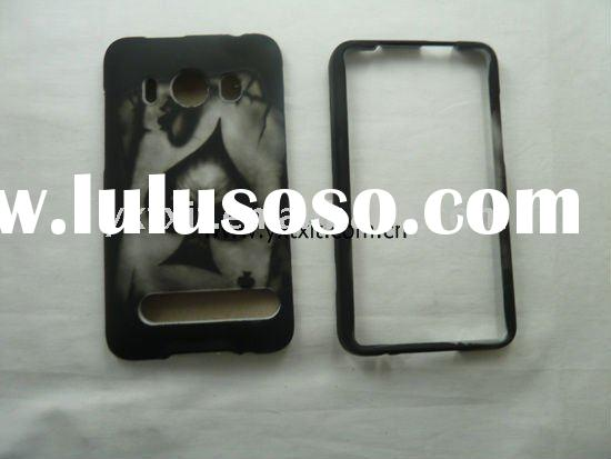 specially design snap-on hard skin case for htc evo 4g