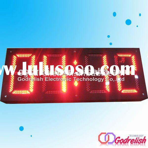 square digital Clock,led clock wall digital