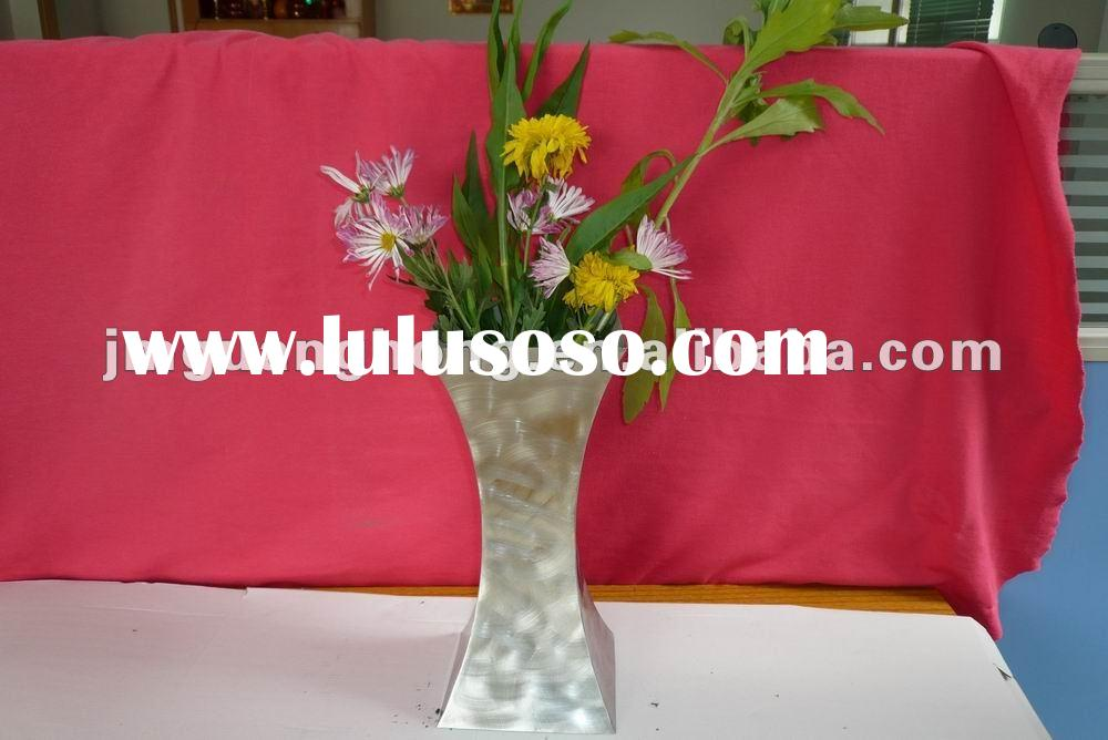 stainless steel flower pot
