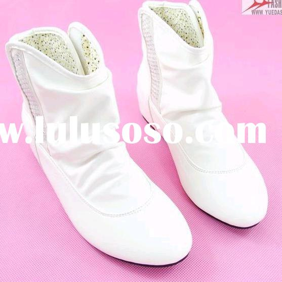 women's boots,PU,flat,rubber,leisure,for young ladies