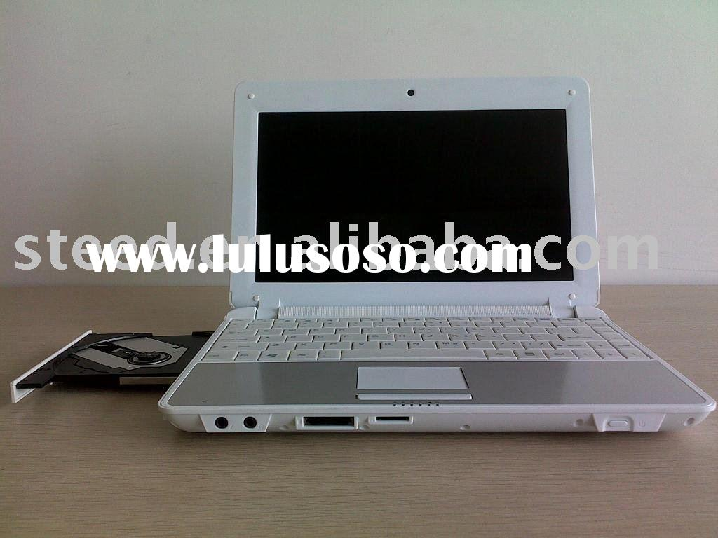 "11.6"" netbook with DVD RW drive,Atom N450,1G memory,160G HDD"