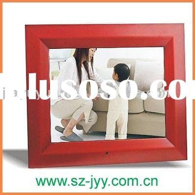 12 inch wooden Digital picture frame