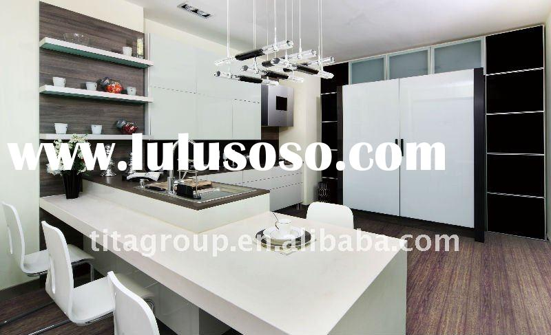 2011 Modern MDF UV High Gloss Kitchen Cabinet