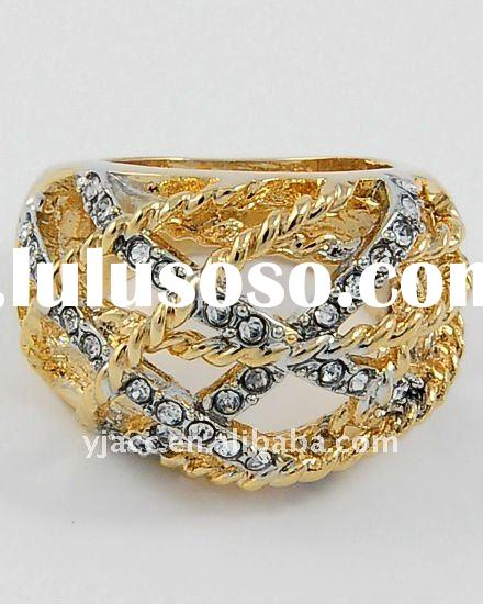 2011 fashion gold wedding rings