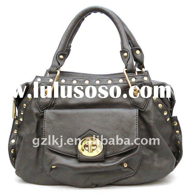 2012 Newest!SS New fashion designer studded handbag