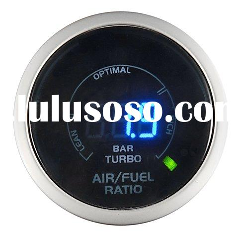 2 in 1 - Digital Air/Fuel Ratio + Turbo/Boost Gauge (auto meter, auto part)