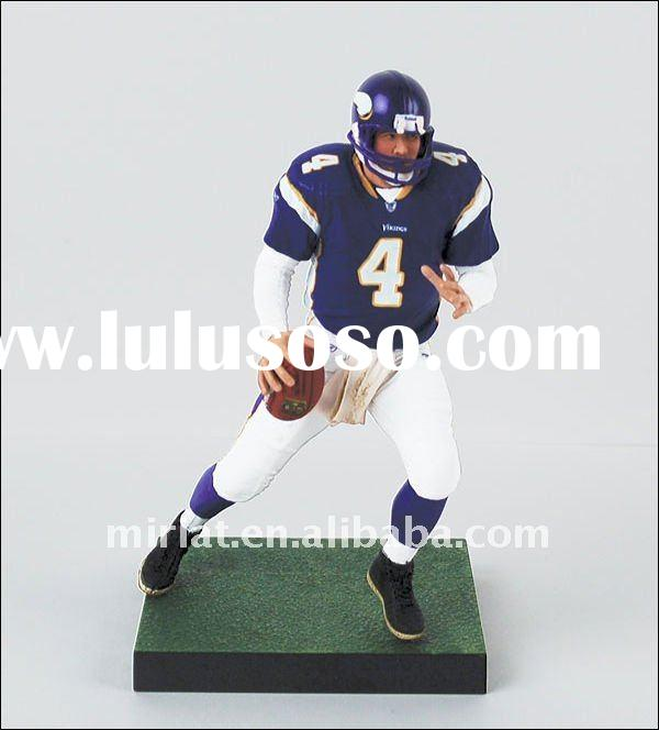 3D Plastic Rugby Player Action Figure