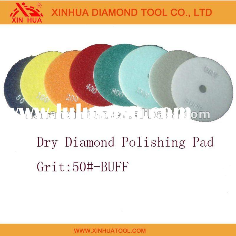 "4"" Diamond Dry Polishing Pad"