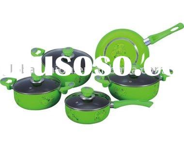 9 pcs aluminium cookware set-20/22/24cm