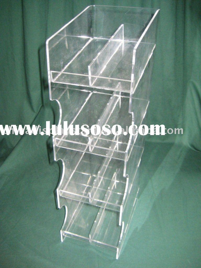 Acrylic Candy bar display rack, acrylic chocolate bar display rack, acrylic food display rack, acryl