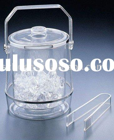 Acrylic Ice Bucket,Plexiglass Champagne Bucket,Lucite Beverage Tub