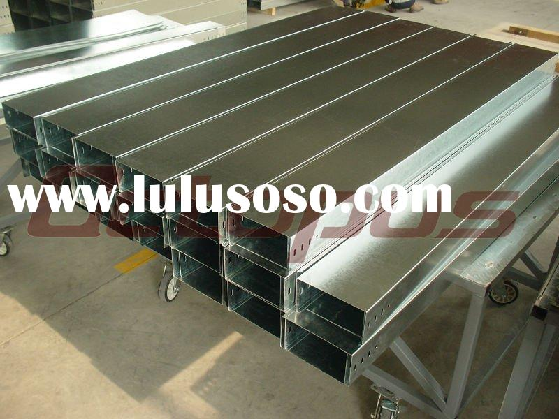 Cable Trunking, Solid Bottom Cable Tray, Galvanized Cable Tunking