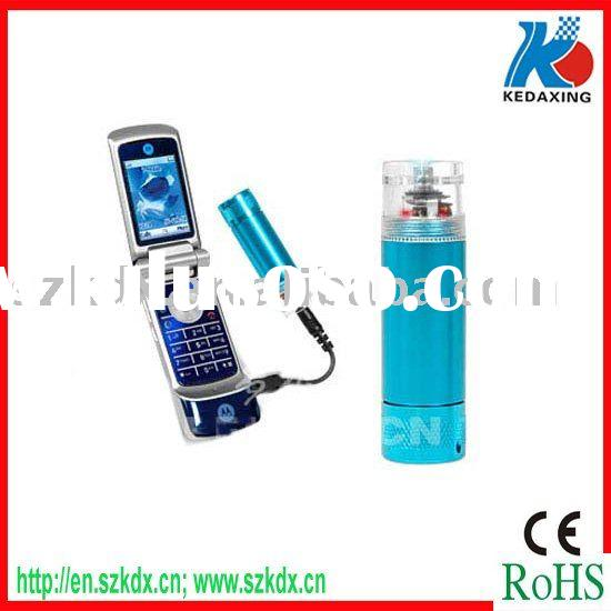 Cell phone charger with AA battery