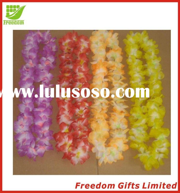 Cheapest Price Artificial Hawaii Flower Lei Necklace,Garland,Wreath