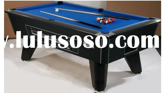 First class Coin Operated Pool Table With Ball Return System