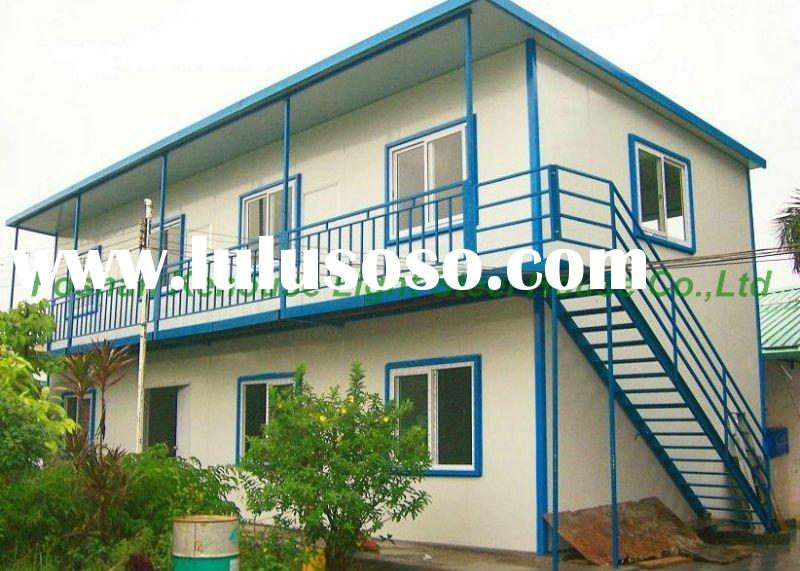 Flat roof modern lost cost mobile home/mobile house